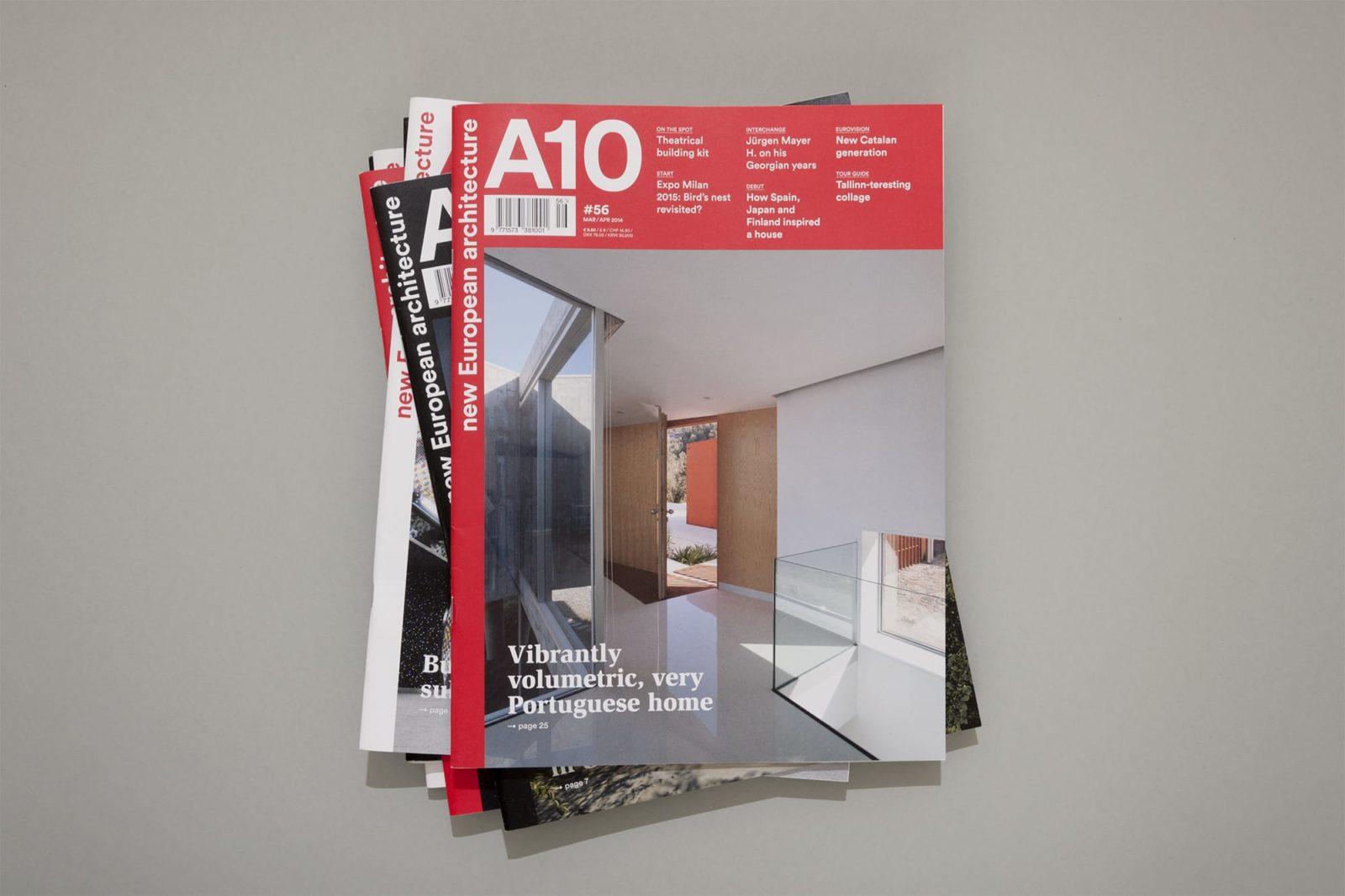 Haller Brun A10 new European architecture magazine