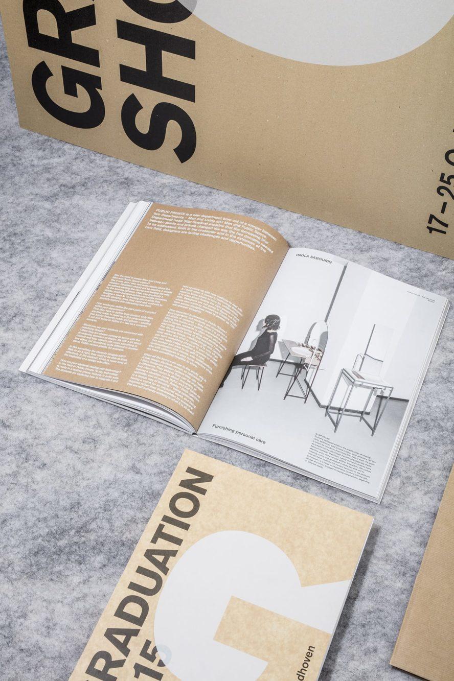 Haller Brun Design Academy Eindhoven Graduation Show 2015 DAE visual identity