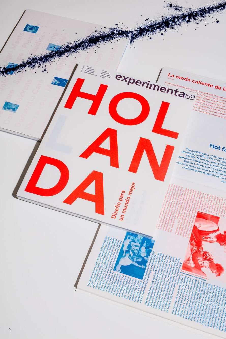 Haller Brun Experimenta 69 magazine design dutch design Holland Hollanda spain