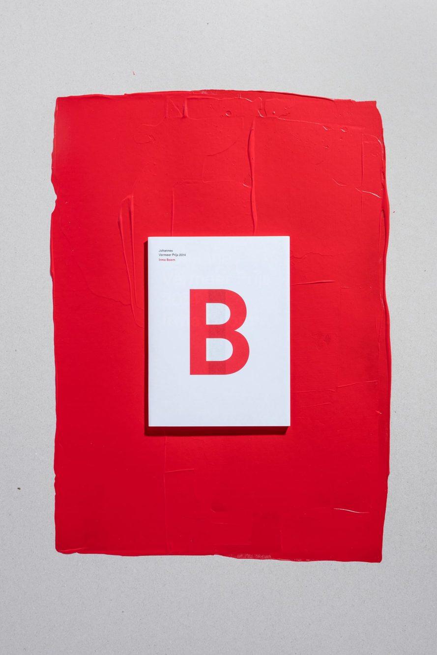 Haller Brun Johannes Vermeer Prijs 2014 Irma Boom award book dust jacket gold foil