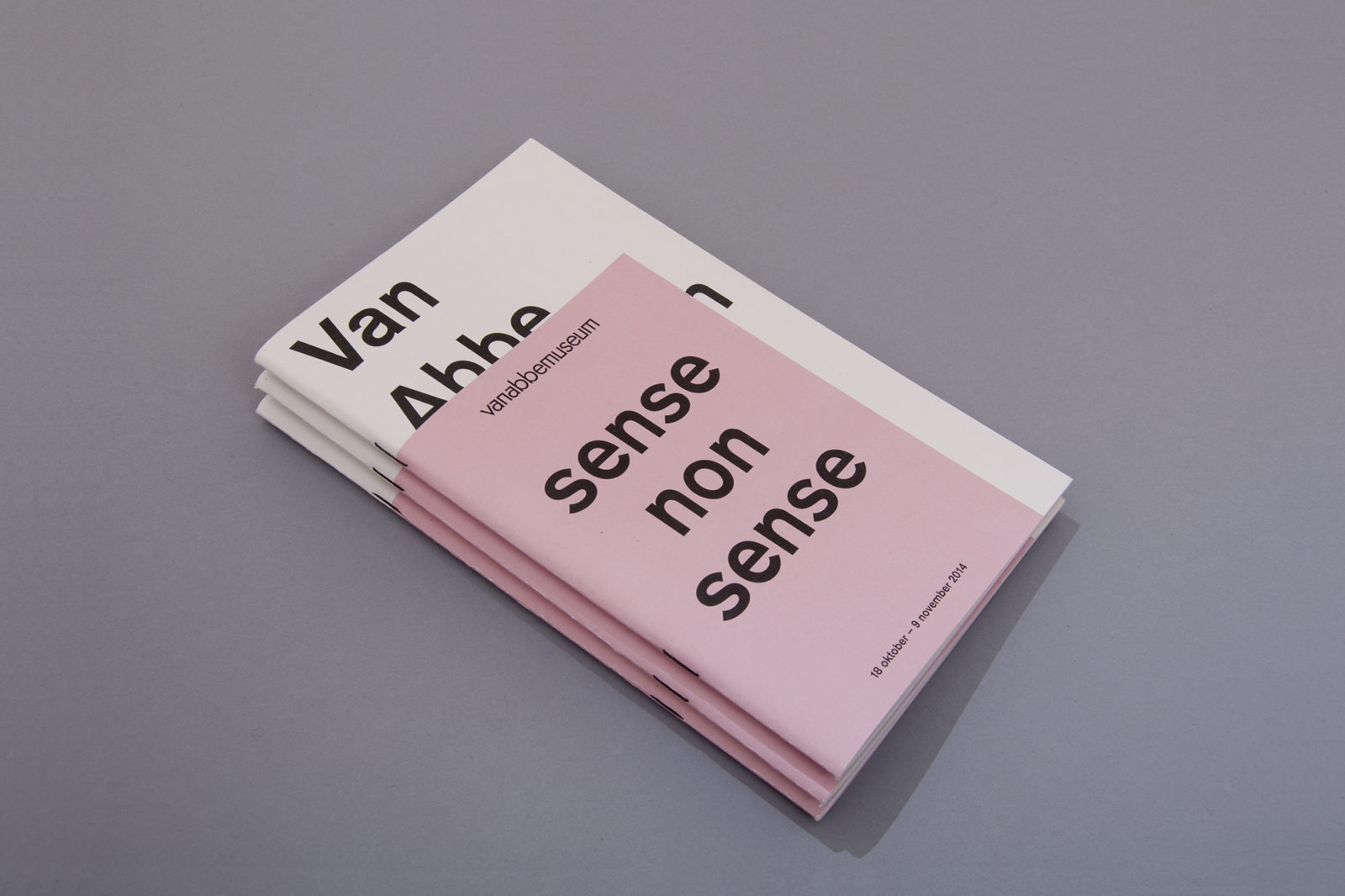 Haller Brun Design Academy Eindhoven Graduation Show 2014 Sense Nonsense Van Abbemuseum exhibition catalogue