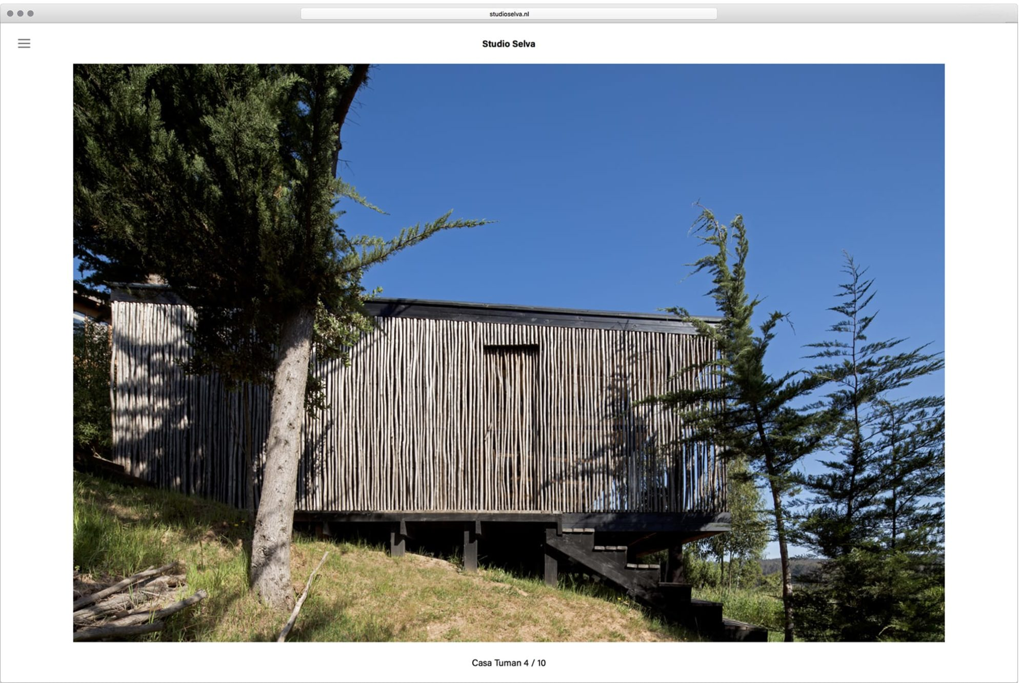 Haller Brun Studio Selva architecture website