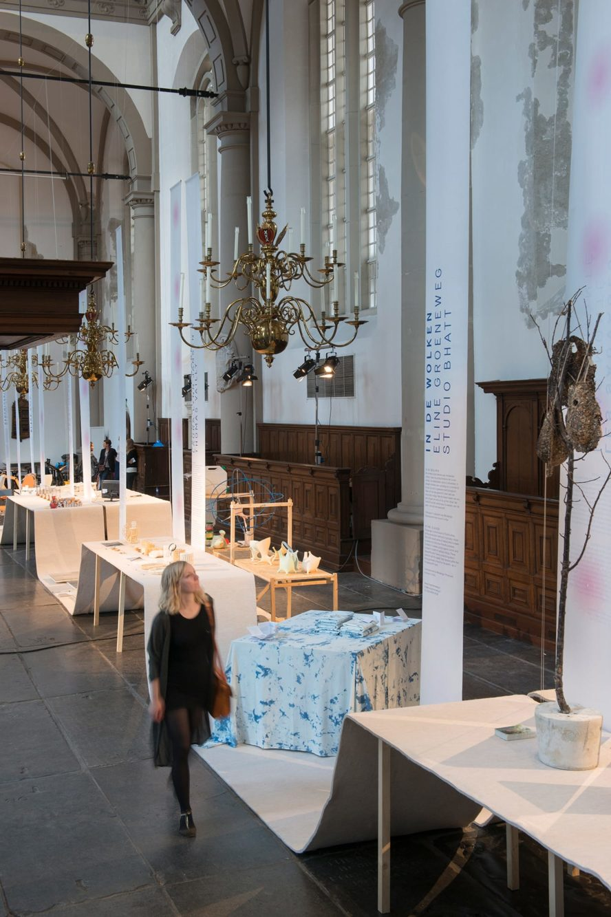 Haller Brun Verlicht Enlightened Design Connecting the Dots exhibition design Westerkerk Amsterdam