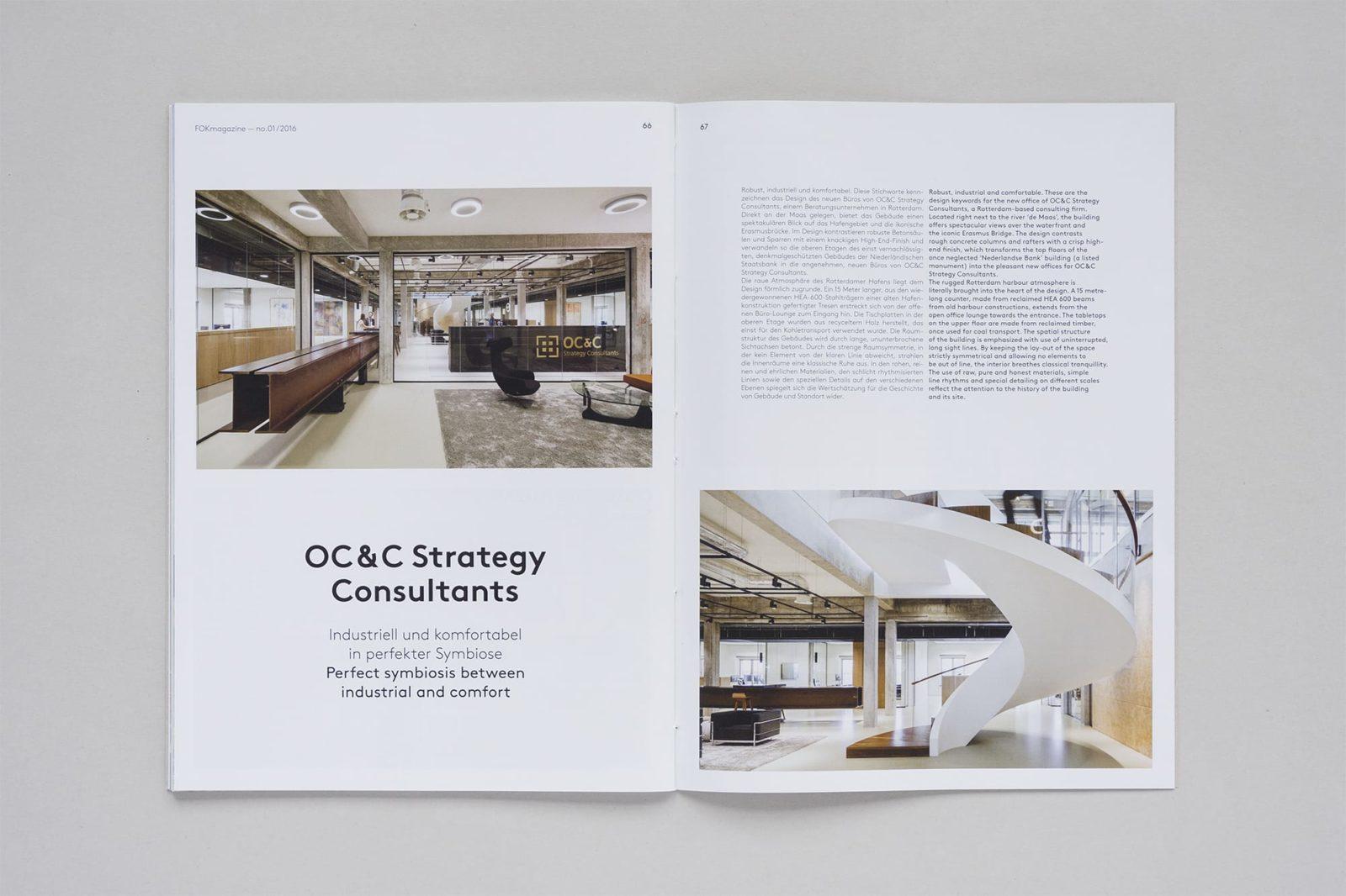 Haller Brun FOK Magazine Fokkema & Partners magazine interior architecture