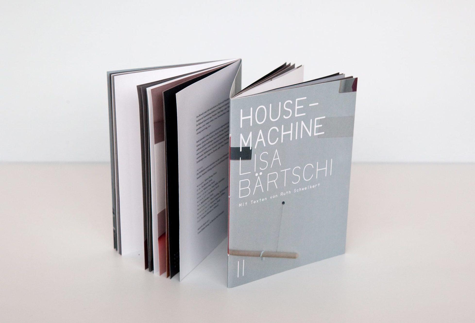 Haller Brun Lisa Bärtschi Housemachine Ruth Schweikert two books in one endless story