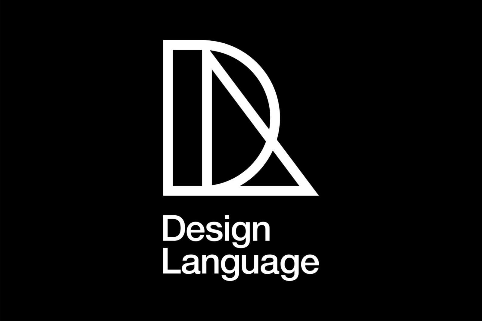 Haller Brun Design Language visual identity basic shapes logo