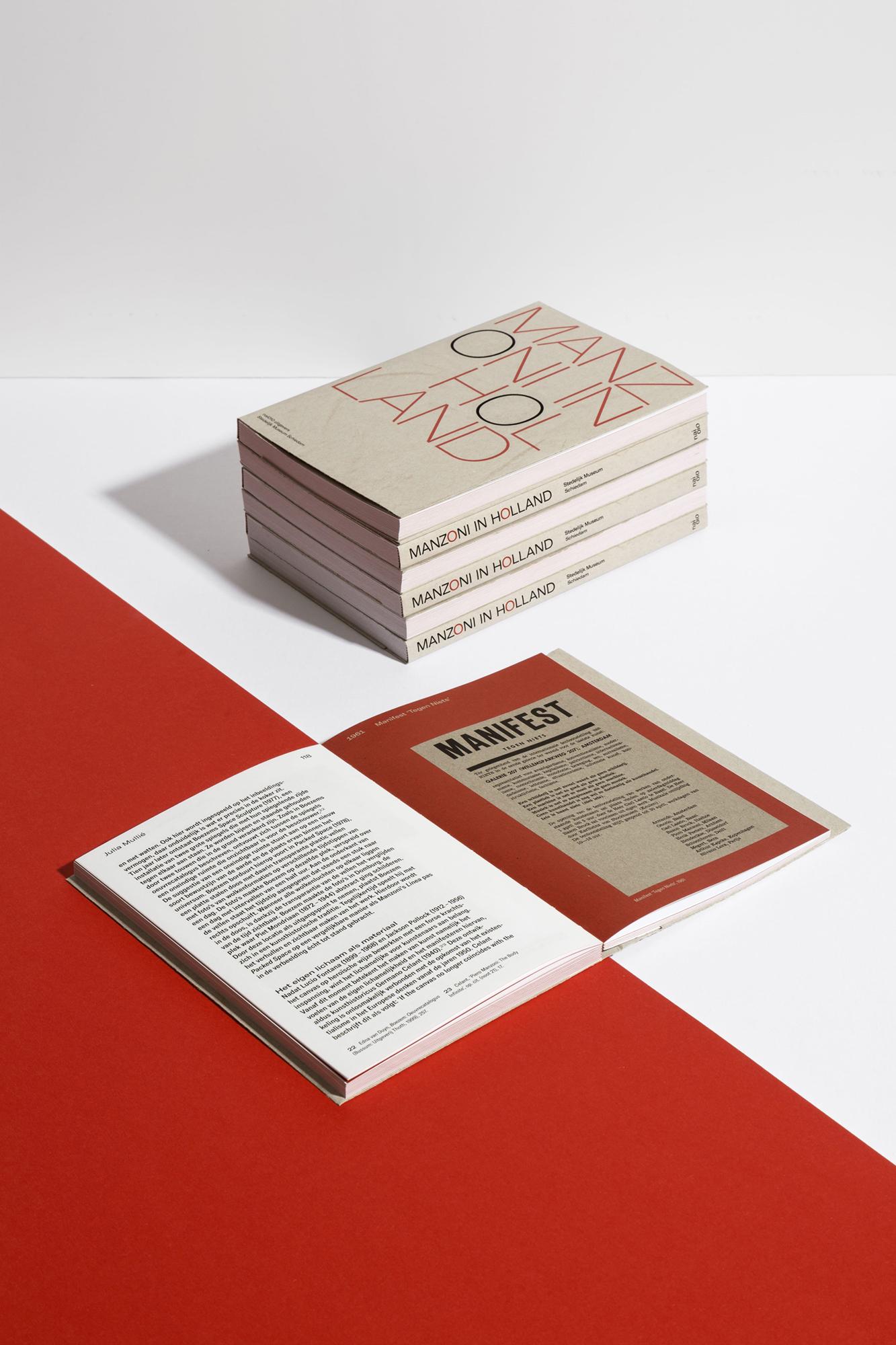 Manzoni in Holland Stedelijk Museum Schiedam Colin Huizing Julia Mullié Antoon Melissen nai010 publishers
