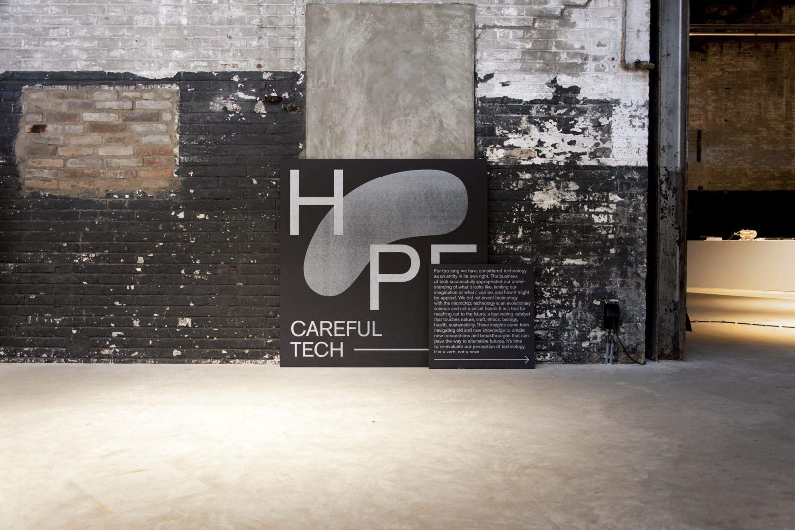 HOPE Design Academy Eindhoven exhibition Kazerne
